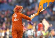 1 May 2005; An Armagh fan celebrates after his sides victory over Wexford. Allianz National Football League, Division 1 Final, Armagh v Wexford, Croke Park, Dublin. Picture credit; Ciara Lyster / SPORTSFILE