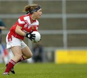 30 April 2005; Valerie Mulcahy, Cork. Suzuki Ladies National Football League, Division 1 Final, Cork v Galway, Gaelic Grounds, Limerick. Picture credit; Ray McManus / SPORTSFILE