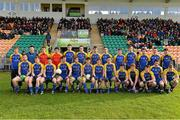 26 January 2014; The Roscommon squad. FBD League, Final, Leitrim v Roscommon. Páirc Sean Mac Diarmada, Carrick on Shannon, Co. Leitrim. Picture credit: David Maher / SPORTSFILE