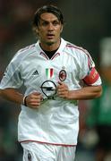 25 May 2005; Paolo Maldini, AC Milan. UEFA Champions League Final, Liverpool v AC Milan, Ataturk Olympic Stadium, Istanbul, Turkey. Picture credit; David Maher / SPORTSFILE