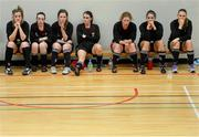 31 January 2014; UCC substitutes look on during the final moments of the game. WSCAI National Futsal Finals, Plate Final, UCC v Carlow IT, The Mardyke, UCC, Cork. Picture credit: Diarmuid Greene / SPORTSFILE