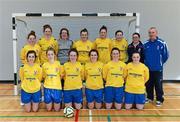 31 January 2014; The Waterford IT squad. WSCAI National Futsal Finals, The Mardyke, UCC, Cork. Picture credit: Diarmuid Greene / SPORTSFILE