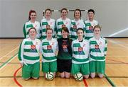 31 January 2014; The Limerick IT squad. WSCAI National Futsal Finals, The Mardyke, UCC, Cork. Picture credit: Diarmuid Greene / SPORTSFILE