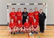 31 January 2014; The IT Sligo squad. WSCAI National Futsal Finals, The Mardyke, UCC, Cork. Picture credit: Diarmuid Greene / SPORTSFILE