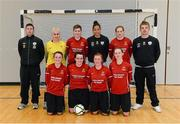 31 January 2014; The Carlow IT squad. WSCAI National Futsal Finals, The Mardyke, UCC, Cork. Picture credit: Diarmuid Greene / SPORTSFILE
