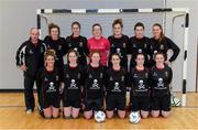 31 January 2014; The UCC squad. WSCAI National Futsal Finals, The Mardyke, UCC, Cork. Picture credit: Diarmuid Greene / SPORTSFILE