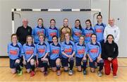 31 January 2014; The UCD squad. WSCAI National Futsal Finals, The Mardyke, UCC, Cork. Picture credit: Diarmuid Greene / SPORTSFILE