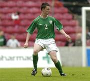 3 June 2005; Kevin Foley, Republic of Ireland U21. European U21 Championship Qualifier, Republic of Ireland U21 v Israel U21, Flancare Park, Longford. Picture credit; Pat Murphy / SPORTSFILE