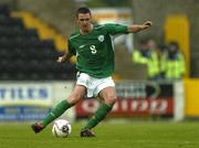 3 June 2005; Darren Potter, Republic of Ireland U21. European U21 Championship Qualifier, Republic of Ireland U21 v Israel U21, Flancare Park, Longford. Picture credit; Pat Murphy / SPORTSFILE