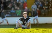 2 February 2014; Shane Connolly, Kildare, reacts to conceding a goal during the game. Allianz Football League, Division 1, Round 1, Kildare v Mayo, St Conleth's Park, Newbridge, Co. Kildare. Picture credit: Piaras Ó Mídheach / SPORTSFILE