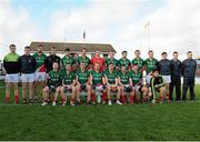 2 February 2014; The Mayo squad. Allianz Football League, Division 1, Round 1, Kildare v Mayo, St Conleth's Park, Newbridge, Co. Kildare. Picture credit: Piaras Ó Mídheach / SPORTSFILE