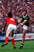 1986; Denis 'Ogie' Moran in action for Kerry against Cork at Páirc Uí Chaoimh in Cork. Photo by Sportsifle