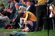 Padraig Feeny, the Roscommon full back who was sent off by referee Pat O'Connor during the Roscommon V Galway game at Athleague, 12th July 1997 Photograph Ray McManus SPORTSFILE