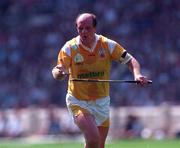 4 August 1996; Terence McNaughton of Antrim during the GAA Hurling All-Ireland Senior Championship Semi-Final match between Antrim and Limerick at Croke Park in Dublin. Photo by Ray McManus/Sportsfile
