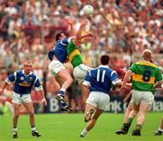 24 August 1997; William Kirby of Kerry in action against Stephen King of Cavan during the GAA Football All-Ireland Senior Championship Semi-Final match between Cavan and Kerry at Croke Park, Dublin. Photo by Ray McManus/Sportsfile