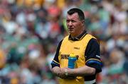 19 June 2005; Val Daly, Roscommon manager, looks on during the game . Bank of Ireland Connacht Senior Football Championship Semi-Final, Mayo v Roscommon, Dr. Hyde Park, Roscommon. Picture credit; David Maher / SPORTSFILE