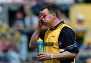 19 June 2005; Val Daly, Roscommon manager, during the game. Bank of Ireland Connacht Senior Football Championship Semi-Final, Mayo v Roscommon, Dr. Hyde Park, Roscommon. Picture credit; David Maher / SPORTSFILE