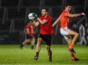 7 February 2014; Ryan Mallon, Down, in action against Stephen Harold, Armagh. Allianz Football League, Division 2, Round 2, Armagh v Down, Athletic Grounds, Armagh. Picture credit: Oliver McVeigh / SPORTSFILE