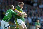 19 June 2005; Dara O'Cinneide, Kerry, in action against John Glavin. Bank of Ireland Munster Senior Football Championship Semi-Final, Limerick v Kerry, Gaelic Grounds, Limerick. Picture credit; Ray McManus / SPORTSFILE