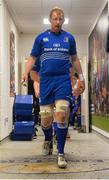 14 February 2014; Leinster's Leo Cullen leads his side down the tunnel for the start of the match. Celtic League 2013/14 Round 14, Leinster v Newport Gwent Dragons, RDS, Ballsbridge, Dublin. Picture credit: Ramsey Cardy / SPORTSFILE