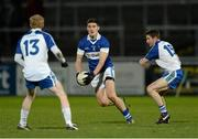 15 February 2014; Diarmuid Connelly, St Vincent's, in action against Coilin Devlin and Conleith Gilligan, Ballinderry. AIB GAA Football All-Ireland Senior Club Championship, Semi-Final, St Vincent's, Dublin v Ballinderry, Derry. Páirc Esler, Newry, Co. Down. Picture credit: Oliver McVeigh / SPORTSFILE
