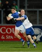 15 February 2014; Diarmuid Connelly, St Vincent's, in action against Conor Nevin, Ballinderry. AIB GAA Football All-Ireland Senior Club Championship, Semi-Final, St Vincent's, Dublin v Ballinderry, Derry. Páirc Esler, Newry, Co. Down. Picture credit: Oliver McVeigh / SPORTSFILE