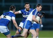 15 February 2014; Enda Muldoon, Ballinderry, in action against Daithi Murphy, St Vincent's. AIB GAA Football All-Ireland Senior Club Championship, Semi-Final, St Vincent's, Dublin v Ballinderry, Derry. Páirc Esler, Newry, Co. Down. Picture credit: Oliver McVeigh / SPORTSFILE