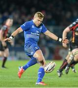 14 February 2014; Ian Madigan, Leinster. Celtic League 2013/14 Round 14, Leinster v Newport Gwent Dragons, RDS, Ballsbridge, Dublin. Picture credit: Ray Lohan / SPORTSFILE