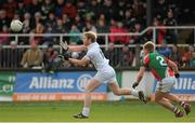 2 February 2014; Tomás O'Connor, Kildare, in action against Kevin Keane, Mayo. Allianz Football League, Division 1, Round 1, Kildare v Mayo, St Conleth's Park, Newbridge, Co. Kildare. Picture credit: Piaras Ó Mídheach / SPORTSFILE