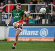 2 February 2014; Adam Gallagher, Mayo. Allianz Football League, Division 1, Round 1, Kildare v Mayo, St Conleth's Park, Newbridge, Co. Kildare. Picture credit: Piaras Ó Mídheach / SPORTSFILE