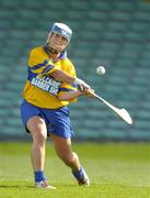 9 July 2005; Claire McMahon, Clare. Munster Junior Camogie Championship Final, Limerick v Clare, Gaelic Grounds, Limerick. Picture credit; Damien Eagers / SPORTSFILE