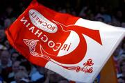 10 July 2005; A Tyrone flag during the game. Bank of Ireland Ulster Senior Football Championship Final, Armagh v Tyrone, Croke Park, Dublin. Picture credit; Ray McManus / SPORTSFILE