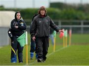 23 February 2014; John Morrison, Monaghan manager. Tesco HomeGrown Ladies Football National League Division 1, Monaghan v Dublin, Inniskeen, Co. Monaghan. Picture credit: Oliver McVeigh / SPORTSFILE