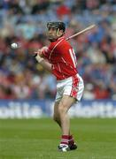 24 July 2005; Ben O'Connor, Cork. Guinness All-Ireland Senior Hurling Championship Quarter-Final, Cork v Waterford, Croke Park, Dublin. Picture credit; Ray McManus / SPORTSFILE