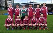 28 February 2014; The NUI Galway team. Eircom Centenary Collingwood Cup Final, NUI Maynooth v NUI Galway, UCD Bowl, Belfield, Dublin. Picture credit: Barry Cregg / SPORTSFILE