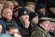 9 March 2014; Mayo manager James Horan in the stands during the game. Allianz Football League Division 1 Round 4, Westmeath v Mayo, Cusack Park, Mullingar, Co. Westmeath. Picture credit: Paul Mohan / SPORTSFILE