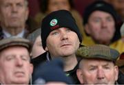 9 March 2014; Mayo manager James Horan watches on from the stands during the game. Allianz Football League Division 1 Round 4, Westmeath v Mayo, Cusack Park, Mullingar, Co. Westmeath. Picture credit: Paul Mohan / SPORTSFILE