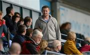 9 March 2014; Dublin footballer Jack McCaffrey watches the game. Tesco Homegrown Ladies National Football League Division 1 Round 5, Dublin v Cork, Parnell Park, Dublin. Picture credit: Pat Murphy / SPORTSFILE