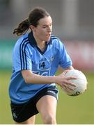 9 March 2014; Sinead Aherne, Dublin. Tesco Homegrown Ladies National Football League Division 1 Round 5, Dublin v Cork, Parnell Park, Dublin. Picture credit: Pat Murphy / SPORTSFILE