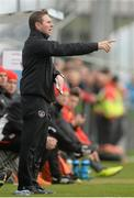6 March 2014; Tom Mohan, Republic of Ireland U17 manager. U17 International Friendly, Republic of Ireland v Austria, Gannon Park, Malahide, Co. Dublin. Picture credit: Pat Murphy / SPORTSFILE