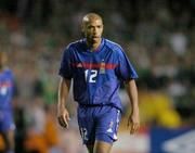 7 September 2005; Thierry Henry, France. FIFA 2006 World Cup Qualifier, Group 4, Republic of Ireland v France, Lansdowne Road, Dublin. Picture credit; Brian Lawless / SPORTSFILE