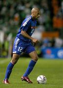7 September 2005; Thierry Henry, France. FIFA 2006 World Cup Qualifier, Group 4, Republic of Ireland v France, Lansdowne Road, Dublin. Picture credit; Brendan Moran / SPORTSFILE