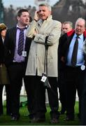 11 March 2014; Michael O'Leary, CEO of Ryanair, during the day's races. Cheltenham Racing Festival 2014. Prestbury Park, Cheltenham, England. Picture credit: Barry Cregg / SPORTSFILE - read more