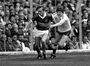 21 September 1986; Ger Lynch, Kerry, in action against Aidan O'Hagan, Tyrone, Kerry v Tyrone, All-Ireland Football Final, Croke Park, Dublin. Picture credit; Ray McManus / SPORTSFILE