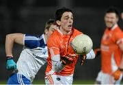 15 March 2014; Rory Grugan, Armagh, in action against Jack McCarron, Monaghan. Allianz Football League, Division 2, Round 5, Armagh v Monaghan, Athletic Grounds, Armagh. Picture credit: Oliver McVeigh / SPORTSFILE