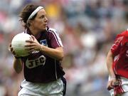 2 October 2005; Philomena Ni Fhlatharta, Galway. TG4 Ladies All-Ireland Senior Football Championship Final, Galway v Cork, Croke Park, Dublin. Picture credit: Brian Lawless / SPORTSFILE