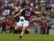 2 October 2005; Niamh Fahy, Galway. TG4 Ladies All-Ireland Senior Football Championship Final, Galway v Cork, Croke Park, Dublin. Picture credit: Damien Eagers / SPORTSFILE