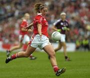 2 October 2005; Niamh Duggan, Cork. TG4 Ladies All-Ireland Senior Football Championship Final, Galway v Cork, Croke Park, Dublin. Picture credit: Damien Eagers / SPORTSFILE