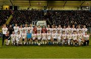 19 March 2014; The Tyrone squad. Cadbury Ulster GAA Football U21 Championship, Quarter-Final, Cavan v Tyrone, Kingspan Breffni Park, Cavan. Picture credit: Oliver McVeigh / SPORTSFILE