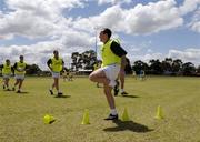 18 October 2005; Brian Dooher, Tyrone, during a training session, at the Mandurah Football and Sports Club, in advance of the Fosters International Rules game between Australia and Ireland. Mandurah Football and Sports Club, Rushton Park, Mandurah, Perth, Western Australia. Picture credit; Ray McManus / SPORTSFILE